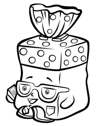 Bread Head Shopkin coloring page Free Printable Coloring