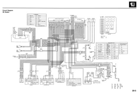 Honda Gl 1500 Wiring Diagram by 1997 1500 Se Wiring Diagram Gl1500 Information