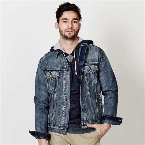 Gift Ideas For The Kitchen - adam levine men s medium wash denim jacket