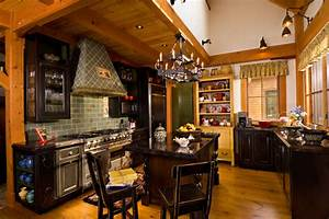 vermont timber frame residence traditional kitchen With interior decorators in vermont