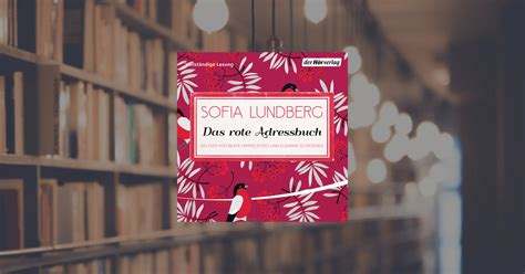 sofia lundberg das rote adressbuch der hoerverlag