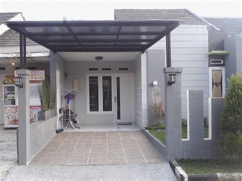 gambar model kanopi rumah minimalis pemasangan kanopi