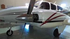 Beech   1974 N7319r 1974 B55 Baron S N Tc 1706 Complete