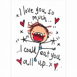 I love you so much I could eat you up! – Juicy Lucy Designs