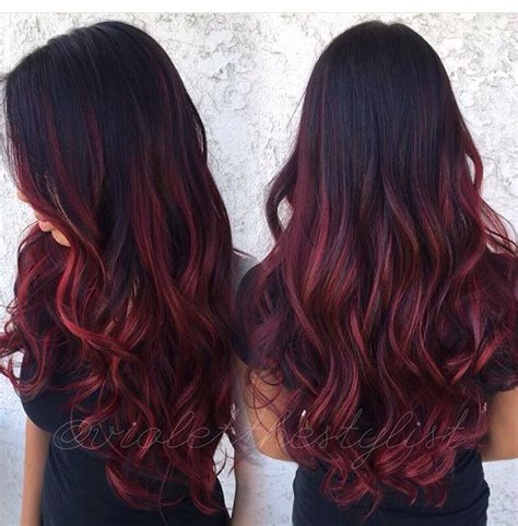 What Colors Go With Hair by Maroon Hairstyles Cabello Color De Cabello Pelo