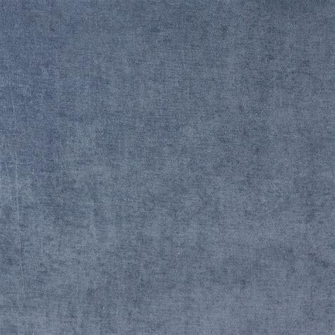 Velvet Fabric For Upholstery by D227 Blue Solid Durable Woven Velvet Upholstery