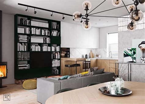 Home Layout With Creative Accent Colours by Home Layout With Creative Accent Colours