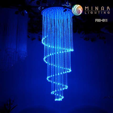 lustre optique de fibre couleur changeant 233 clairage cr 233 ateur foc 011 lustre optique de