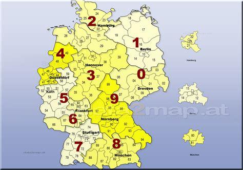 deu plz aa deutschlandkarte mit plz gebieten