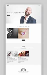 20 simple wordpress themes to quickly make sites 2017 With making wordpress templates