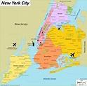 Where is New York ? New York Map Location - TravelsMaps.Com