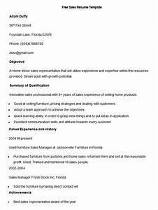 sales resume template 41 free samples examples format With free sales resume templates