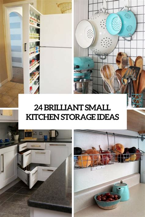 storage ideas for small apartment kitchens 24 creative small kitchen storage ideas shelterness