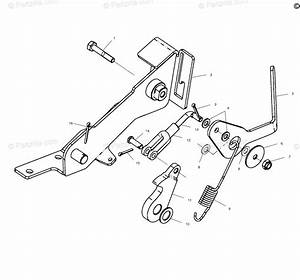 Polaris Atv 2000 Oem Parts Diagram For Foot Brake