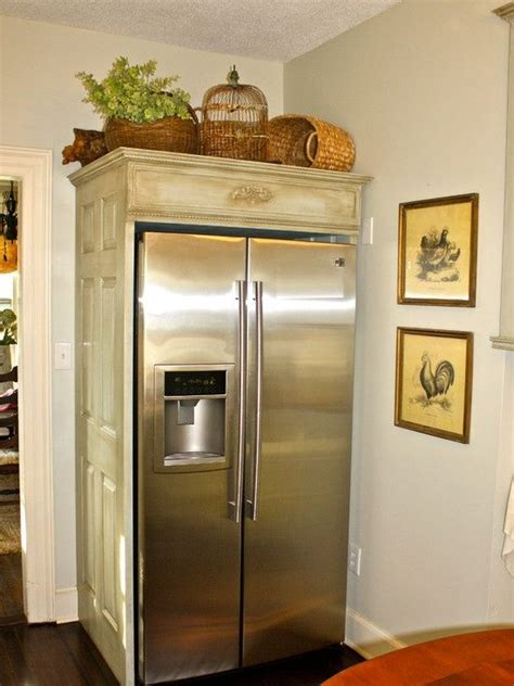 french country kitchen cabinets move  fridge