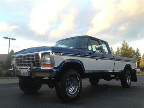 1978 ford f 150 ranger xlt lariat supercab 4x4 for sale in kirkland washington united states