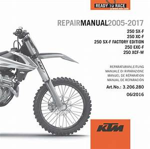 Aomc Mx  Ktm Dvd Repair Manual 250 4t 05