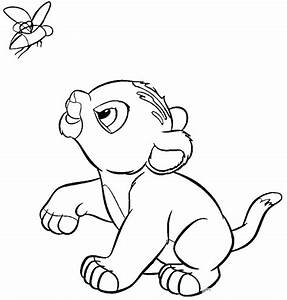 Printable The Lion King Coloring Pages