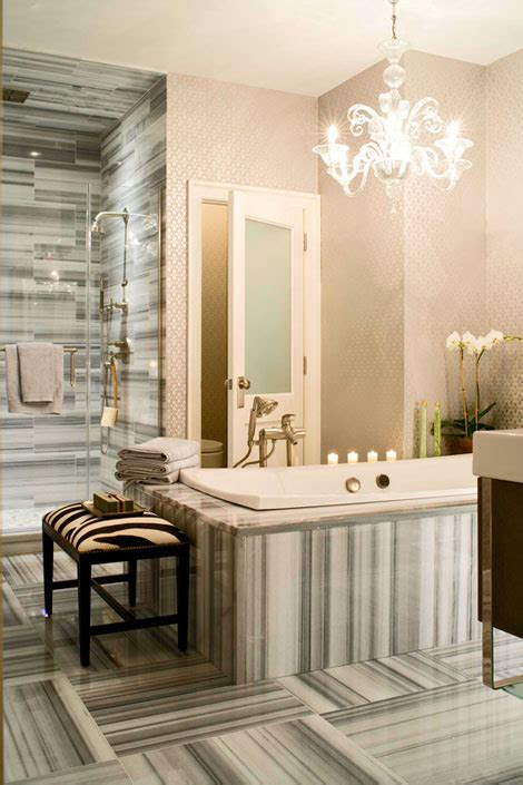 wallpaper in bathroom ideas 30 bathroom wallpaper ideas shelterness