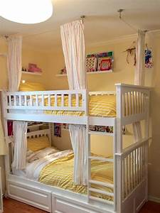 Lightweight and breathable bunk bed curtains - IKEA