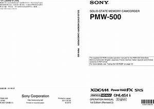 Component Bar Chart Pdf Sony Pmw 500 Users Manual