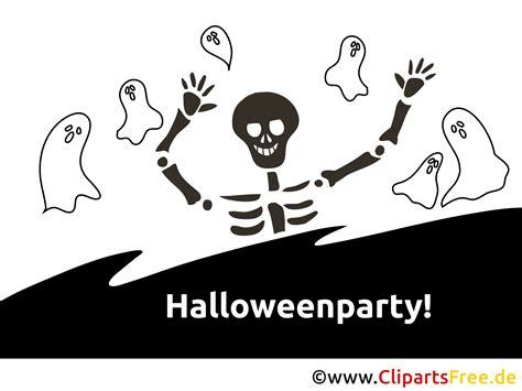 geister skelett halloween malvorlage einladung