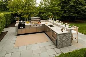 L-Shaped Outdoor Kitchen Design Inspiration Danver