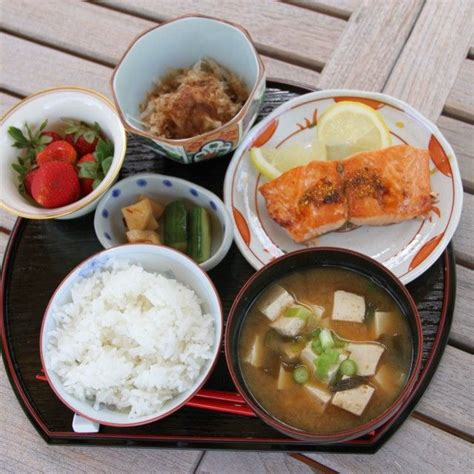 authentic japanese cuisine traditional japanese breakfast japanese food