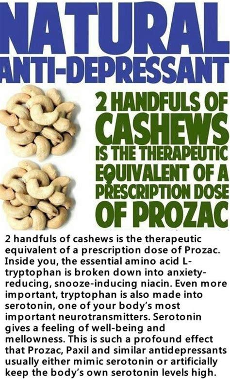 hands  cashews   equivalent   dose  prozac