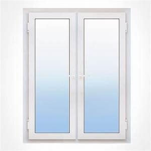 Porte fenetre pvc 2 vantaux ouvertures et mesures couleurs for Joint porte fenetre pvc