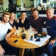 Chris and Liam Hemsworth enjoy a family lunch after ...