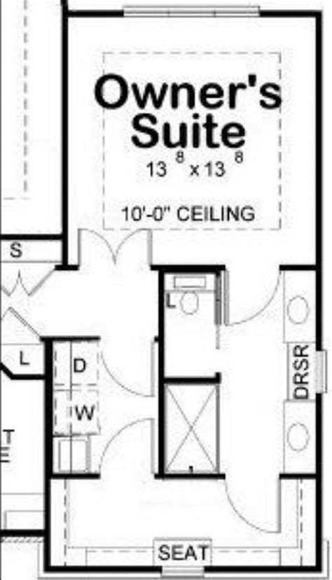 Master Bedroom Bath Closet Layout by Owner S En Suite Walk Through Closet Adjoining Laundry
