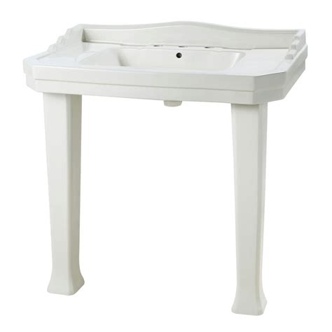 pegasus series 1900 console lavatory and pedestal combo in