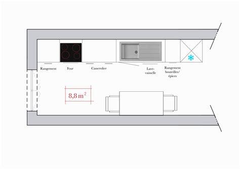taille cuisine taille plan de travail cuisine hauteur standard plan de
