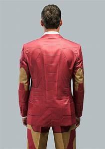 Alter Ego Iron Man Slim Fit Suit Jacket For Men