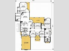 Luxurious Master Bedroom Suite 83379CL 1st Floor