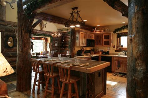 Open Kitchen Cabinet Ideas - country rustic kitchen designs peenmedia com