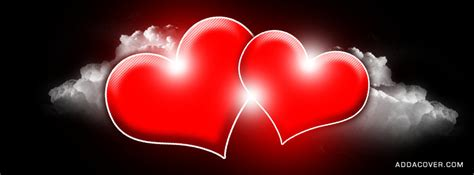 red hearts facebook covers red hearts fb covers red