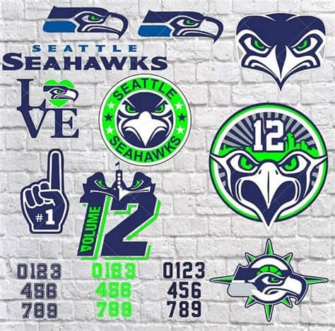 This logo is compatible with eps, ai, psd and adobe pdf formats. Seattle Seahawks SVG, Instant Download Football Files ...