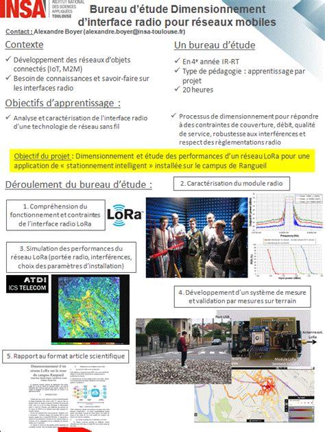 Bureau D'études Réseau Lora Au Gei  Insa Toulouse