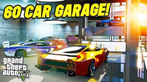 The New Luxury 60 Car Garage?! (gta 5 Online)