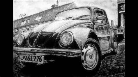 Drawing Volkswagen Beetle