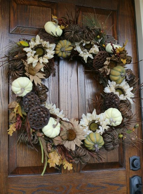 Diy Fall Wreath Tutorial  The Cottage Mama