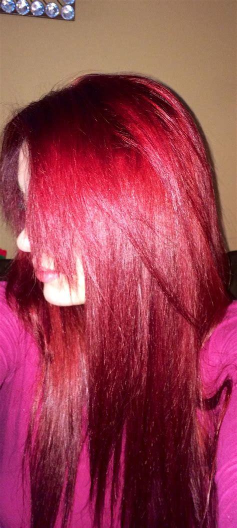 Evolution Of Colour Hair Dye by Loreal Feria R57 Medium Auburn This Color