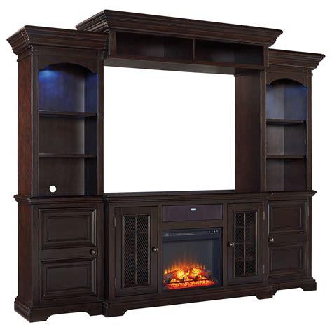entertainment center with fireplace insert signature design willenburg 4 entertainment