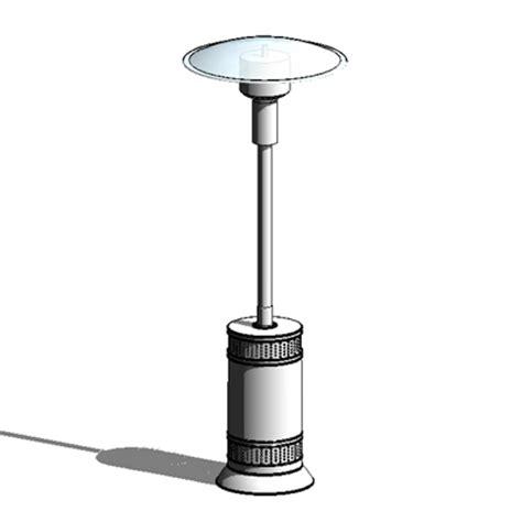 gas patio heater 3d model formfonts 3d models textures