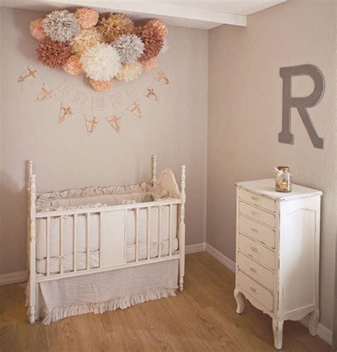 chambre bébé vintage and grey nursery design for a baby kidsomania