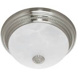 harbor breeze quot brushed nickel quot bathroom fan w light
