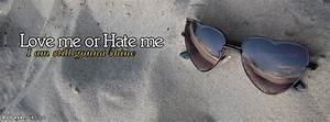 Love Me Facebook Glasses Cover Photos