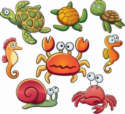 Sea Clip Animals Clipart Ocean Animal Cliparts